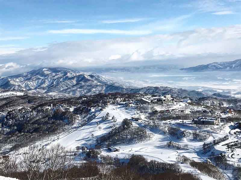 Madarao Ski Resort in Japan