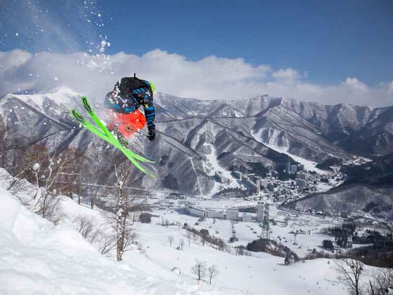 Naeba - Ski resort in Japan