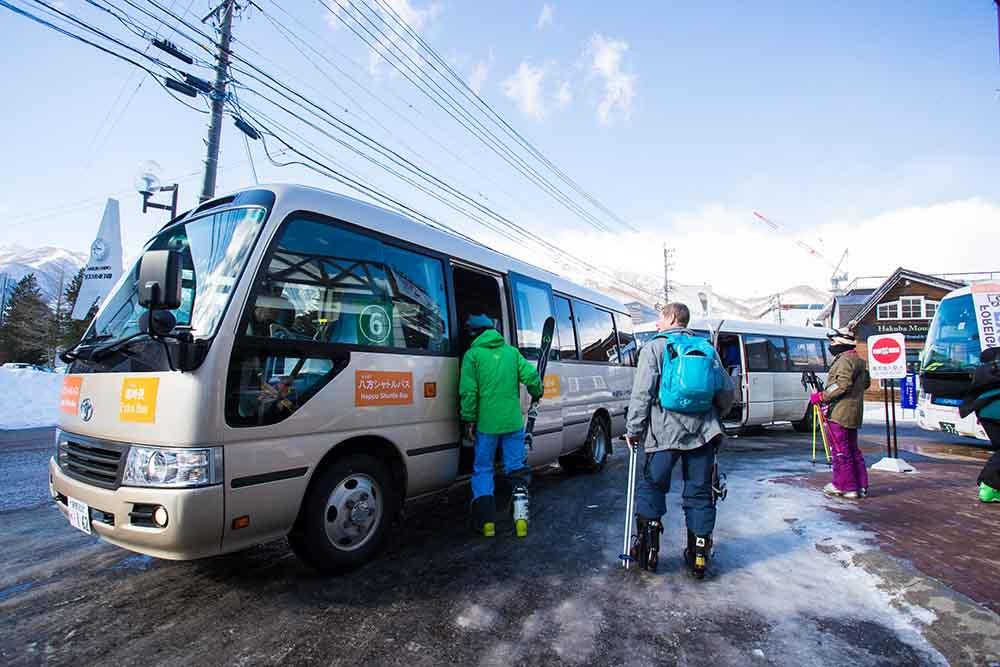 Getting Around Hakuba - Bus