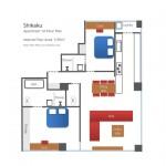 2 Bedroom - 1A