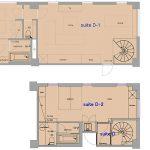 floor plan 3-4F Suite D