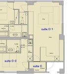 floor plan 3F Suite C