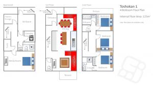 4 Bedroom - 1