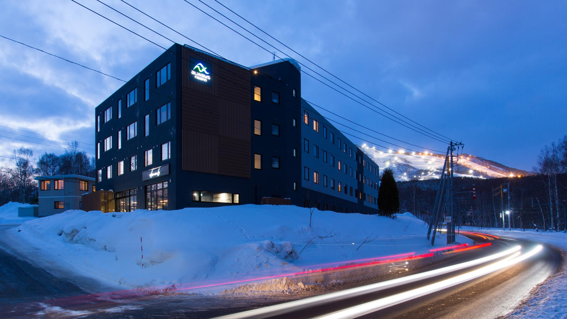 Always Niseko Exterior Night