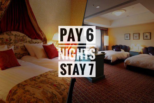 Hakuba Pay 6 Nights Stay 7