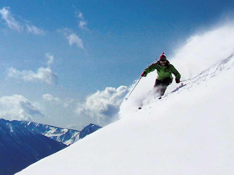 APPI Kogen ski resort in Japan