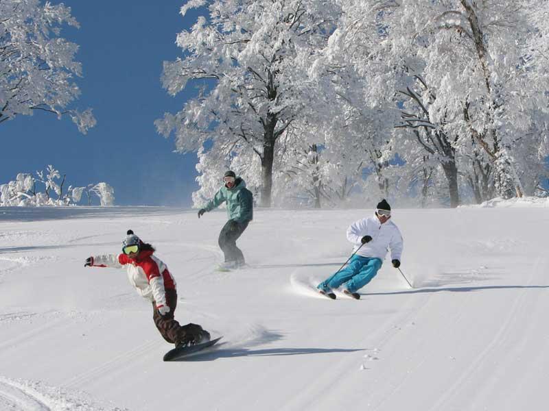 Nozawa Onsen - Skiing in Japan