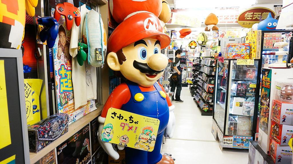 tokyo akihabara super potato retro games