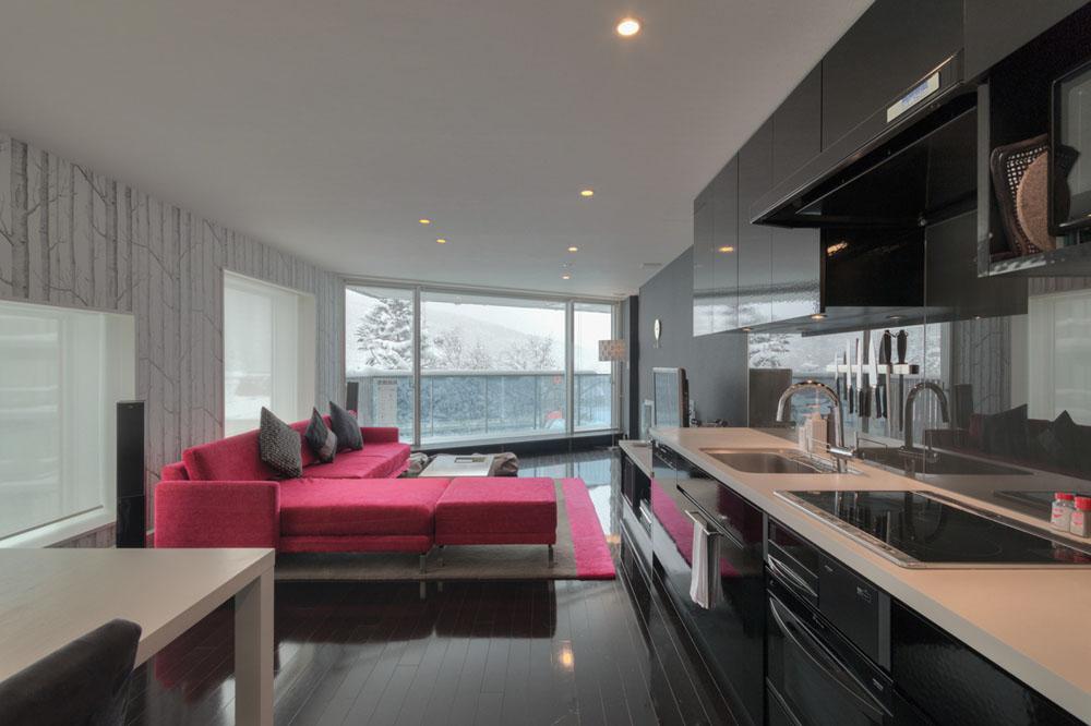 3 bedroom kitchen + living