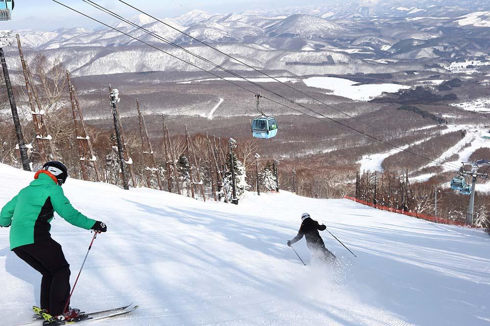 Appi Kogen Skiing