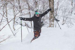 Skiing in Hakuba