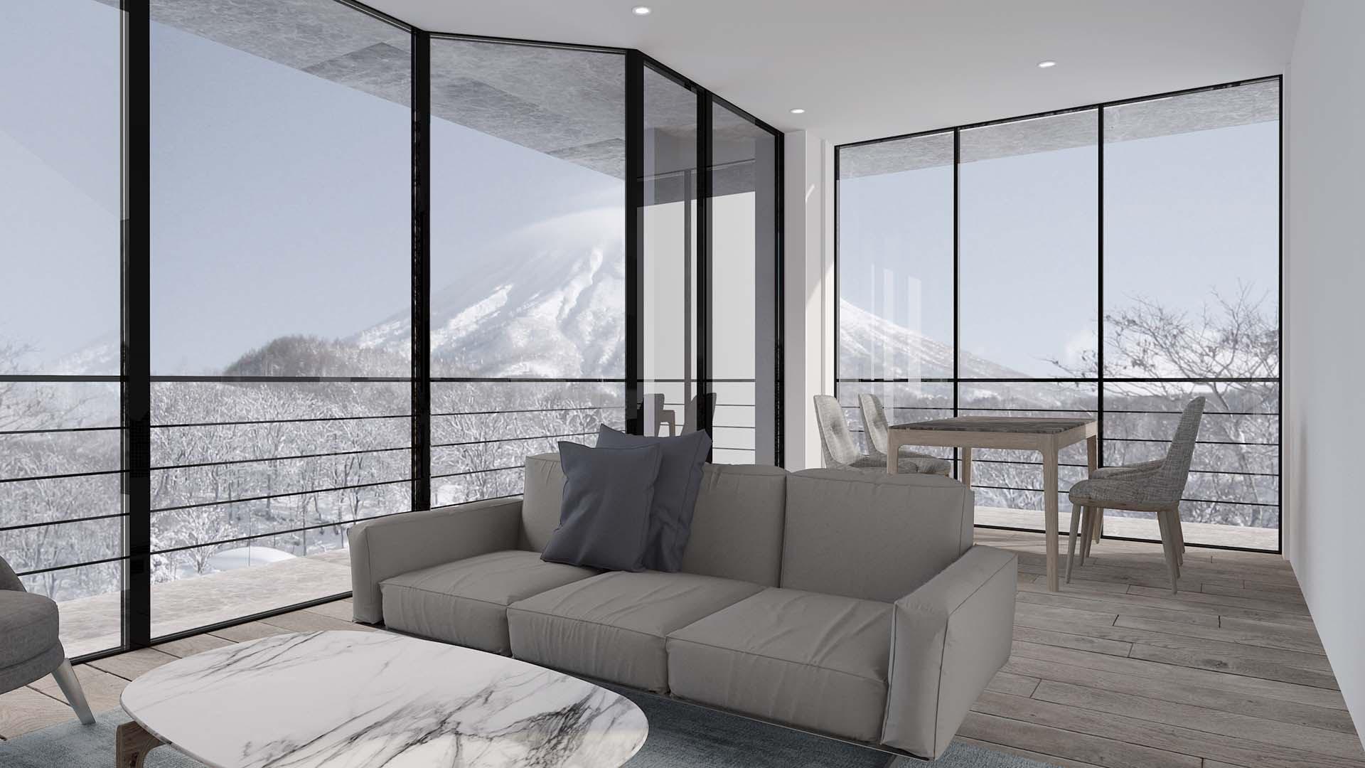 Shinka 2 bedroom living